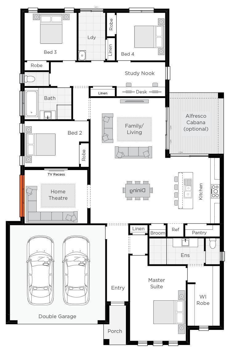 Belvedere floorplan rhs