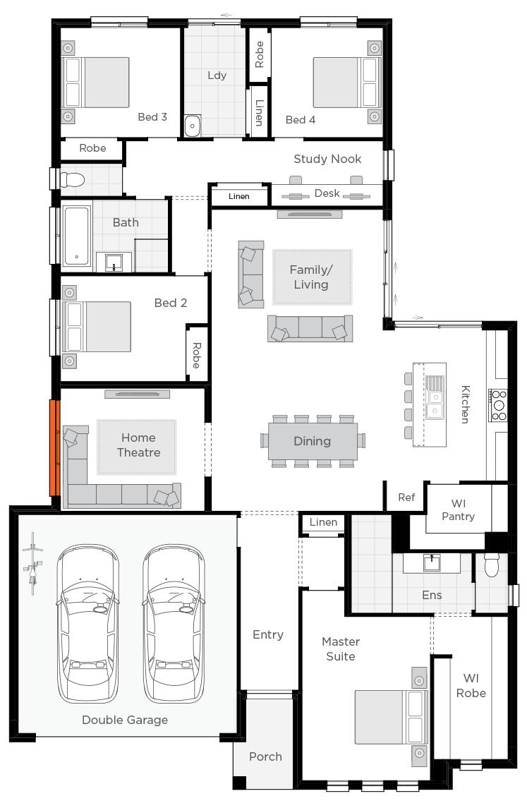 Belvedere Standard Plan