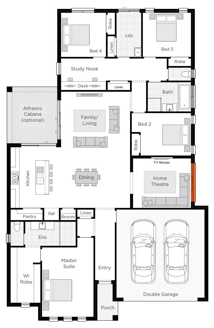 Belvedere floorplan lhs