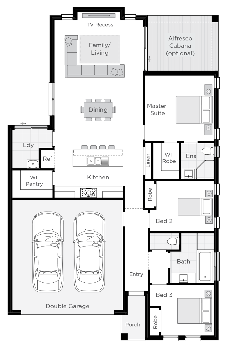 Esquire floorplan rhs