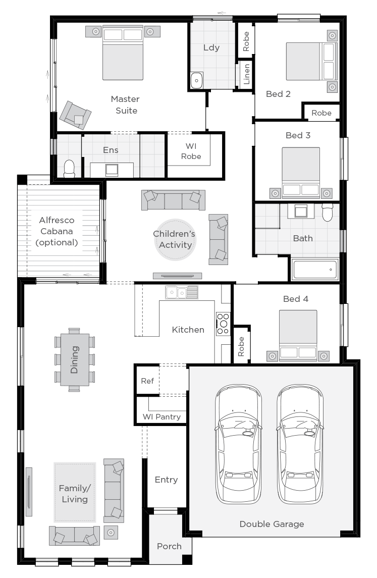 Essington floorplan rhs