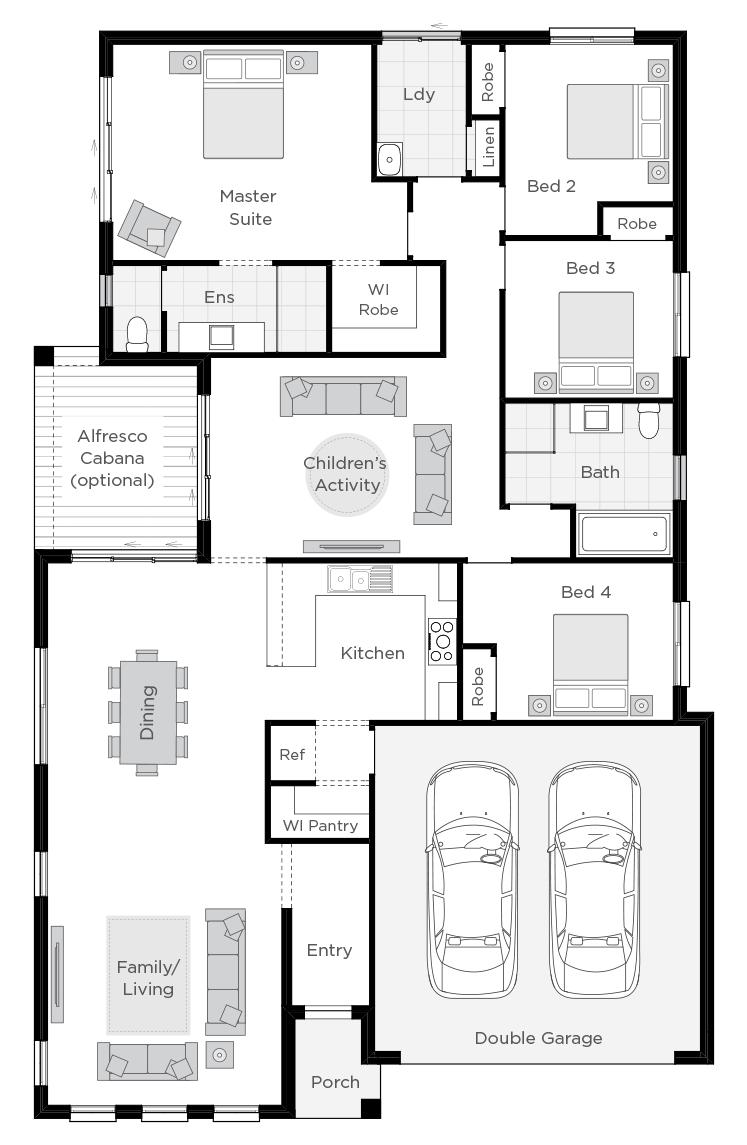 Essington floorplan rhs