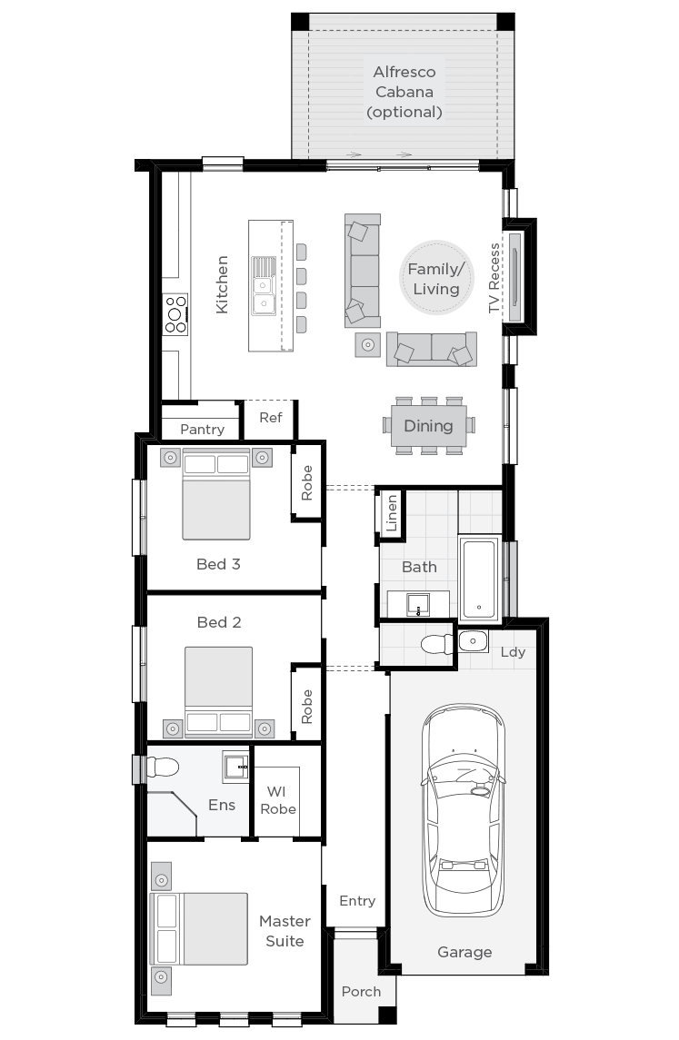 Hamilton floorplan rhs