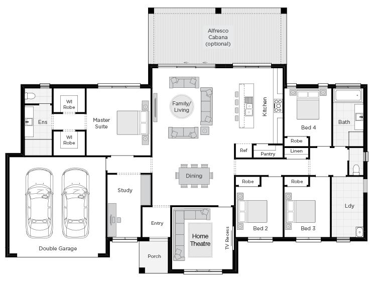Lyndhurst floorplan rhs