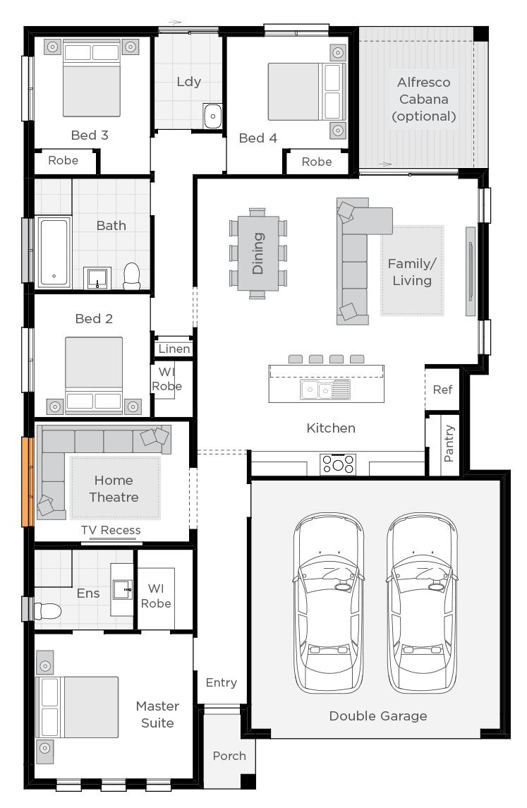 Sierra floorplan rhs