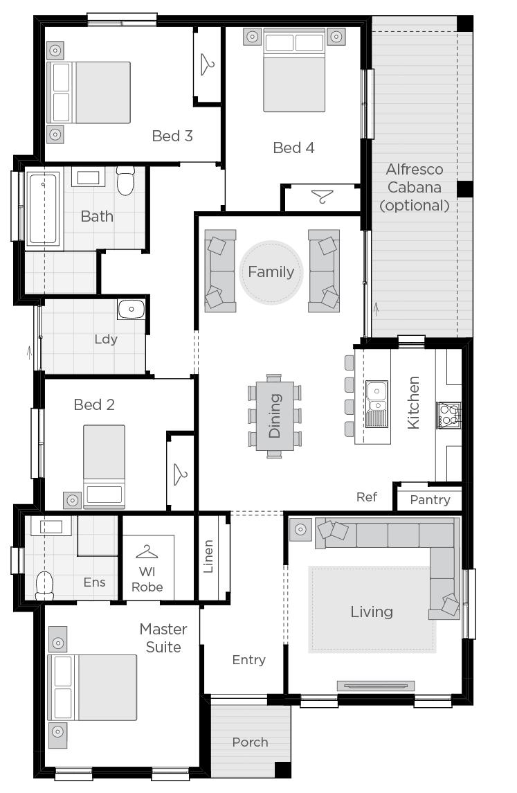Amalfi floorplan lhs