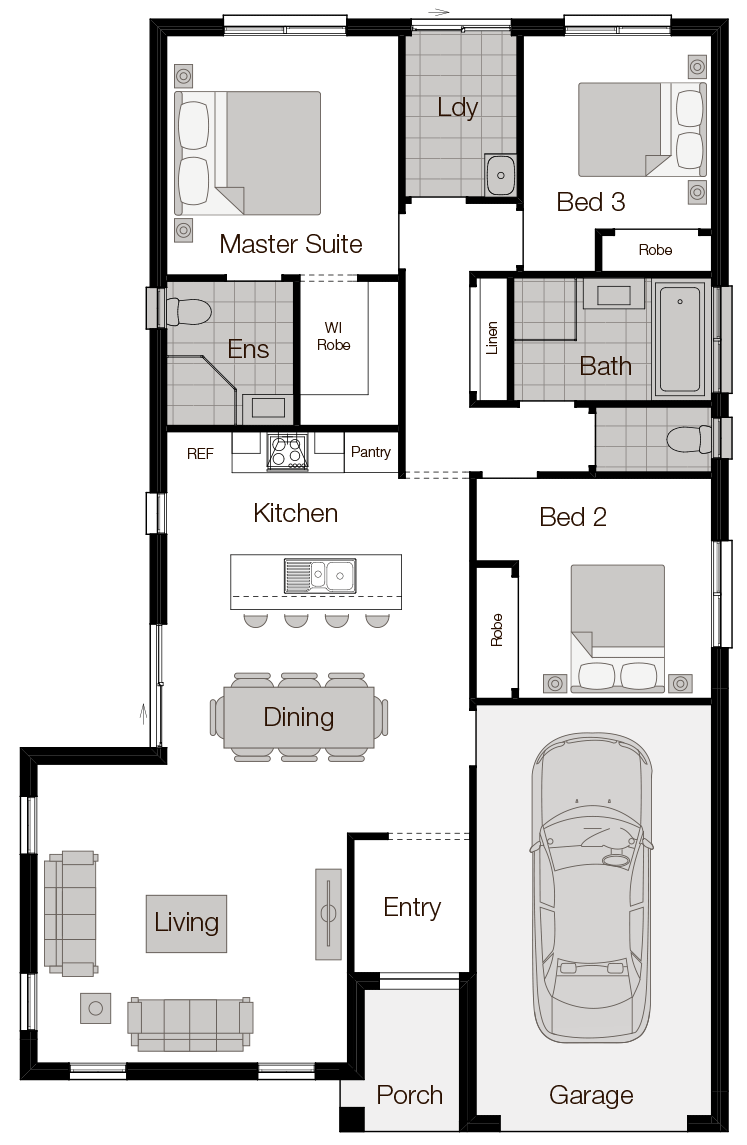 Corsica - Single Storey Home - Wilson Homes
