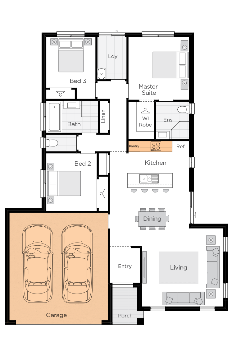 Corsica upgrade floorplan rhs