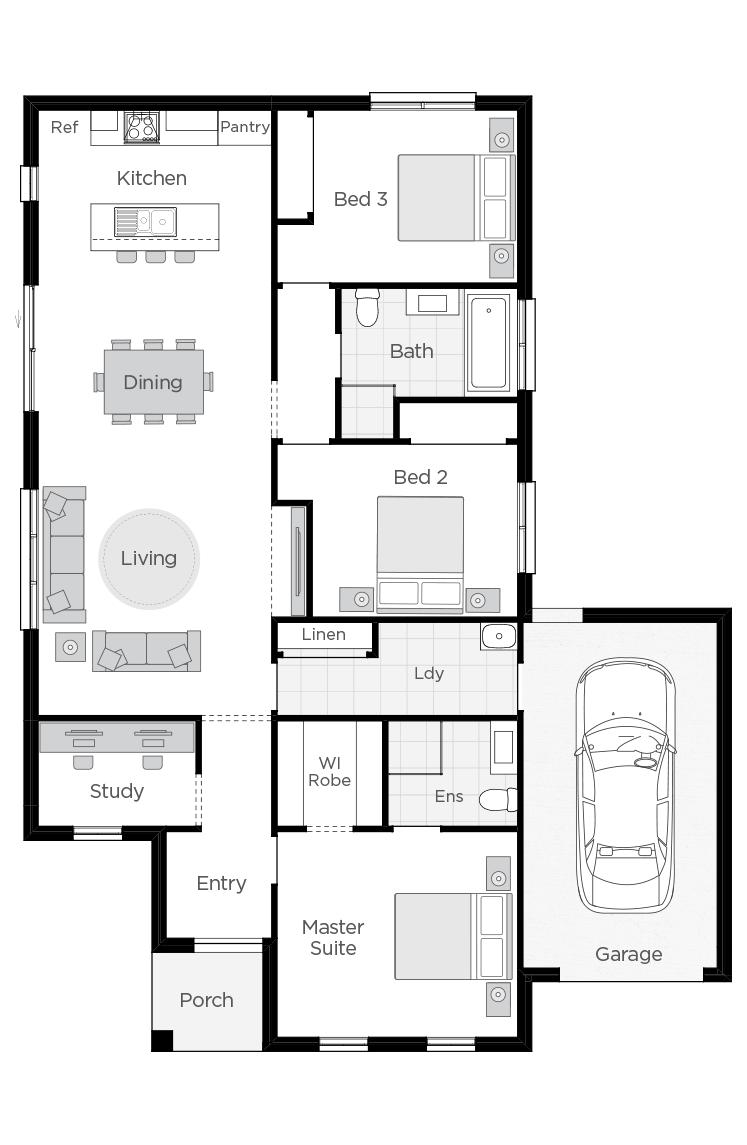 Vienna floorplan rhs