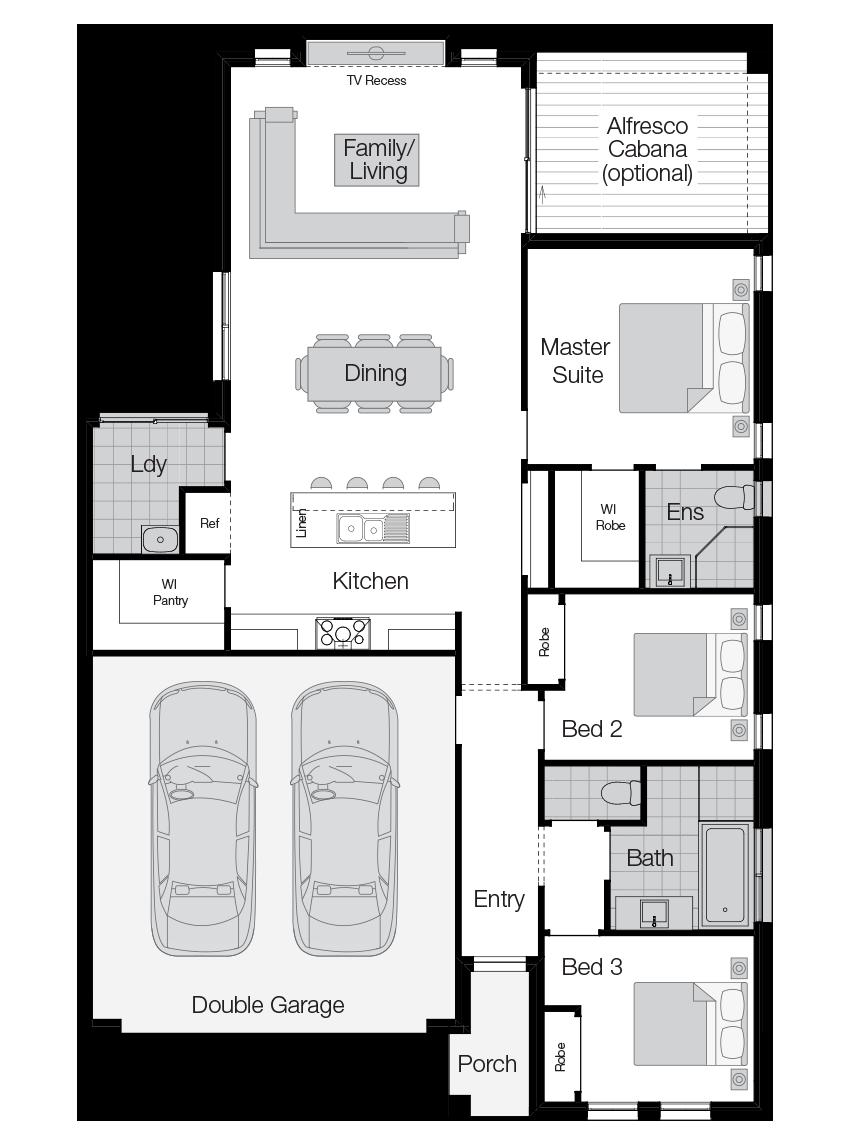 Esquire-Single Storey Floor Plan-Wilson Homes