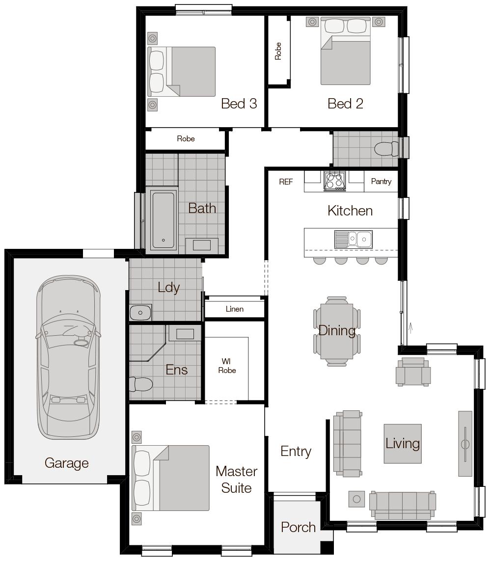 Positano-Single Storey Floor Plan-Wilson Homes