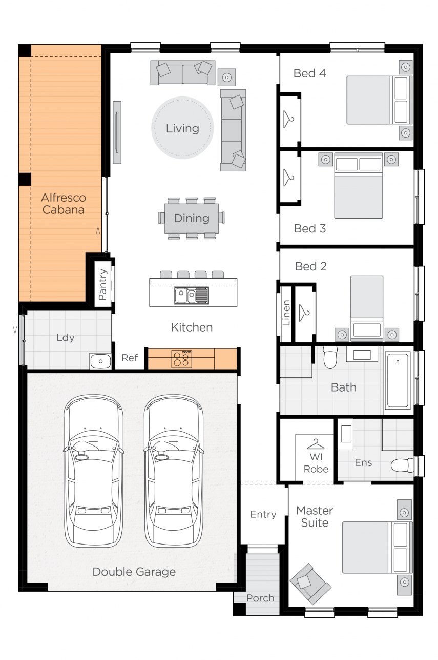 Levante Upgrade floorplan lhs