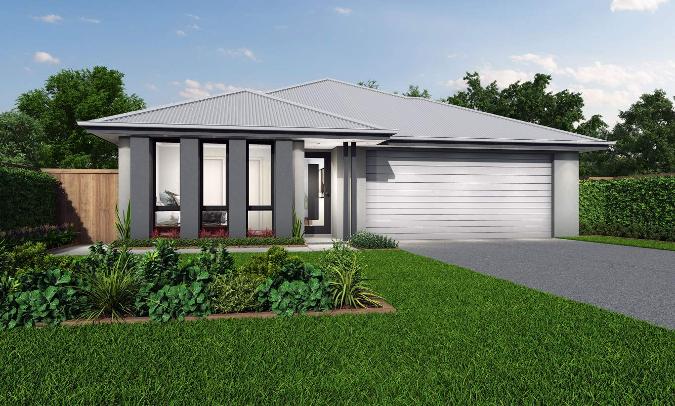 Grange Facade-Albany Home Design-Wilson Homes