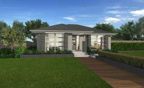 Executive Facade - Amalfi Home Design - Wilson Homes