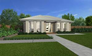 Grange Facade - Amalfi Home Design - Wilson Homes