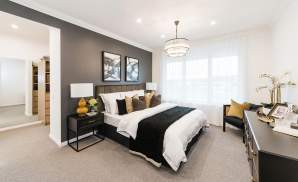 belvedere bedroom youngtown display home