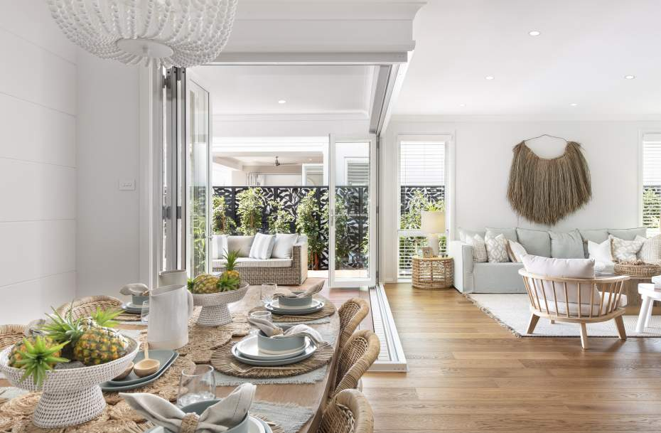 Dining-Living-Alfresco-Display Home-Coolum One
