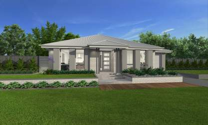 Grange Facade-Bordeaux Home Design-Wilson Homes