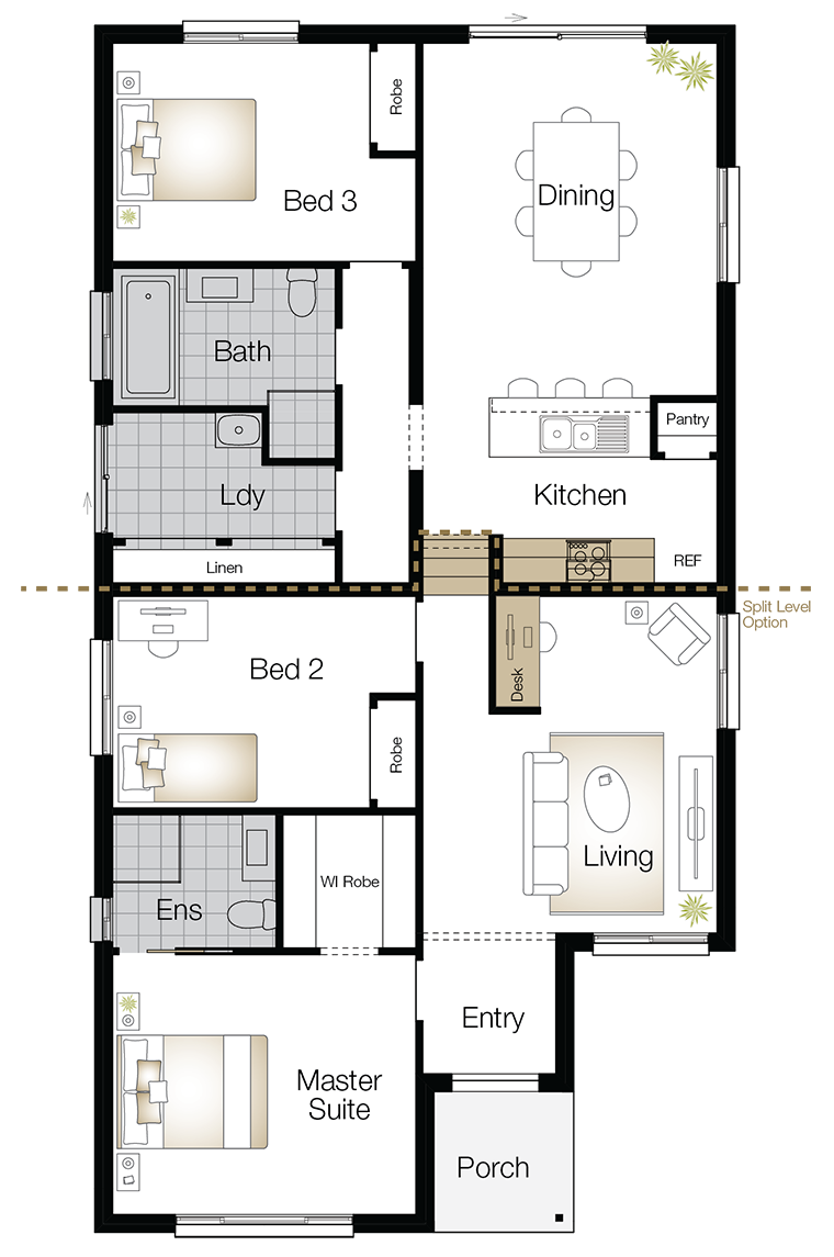 Jamison One – Single Storey Floor Plan Upgrade - Wilson Homes