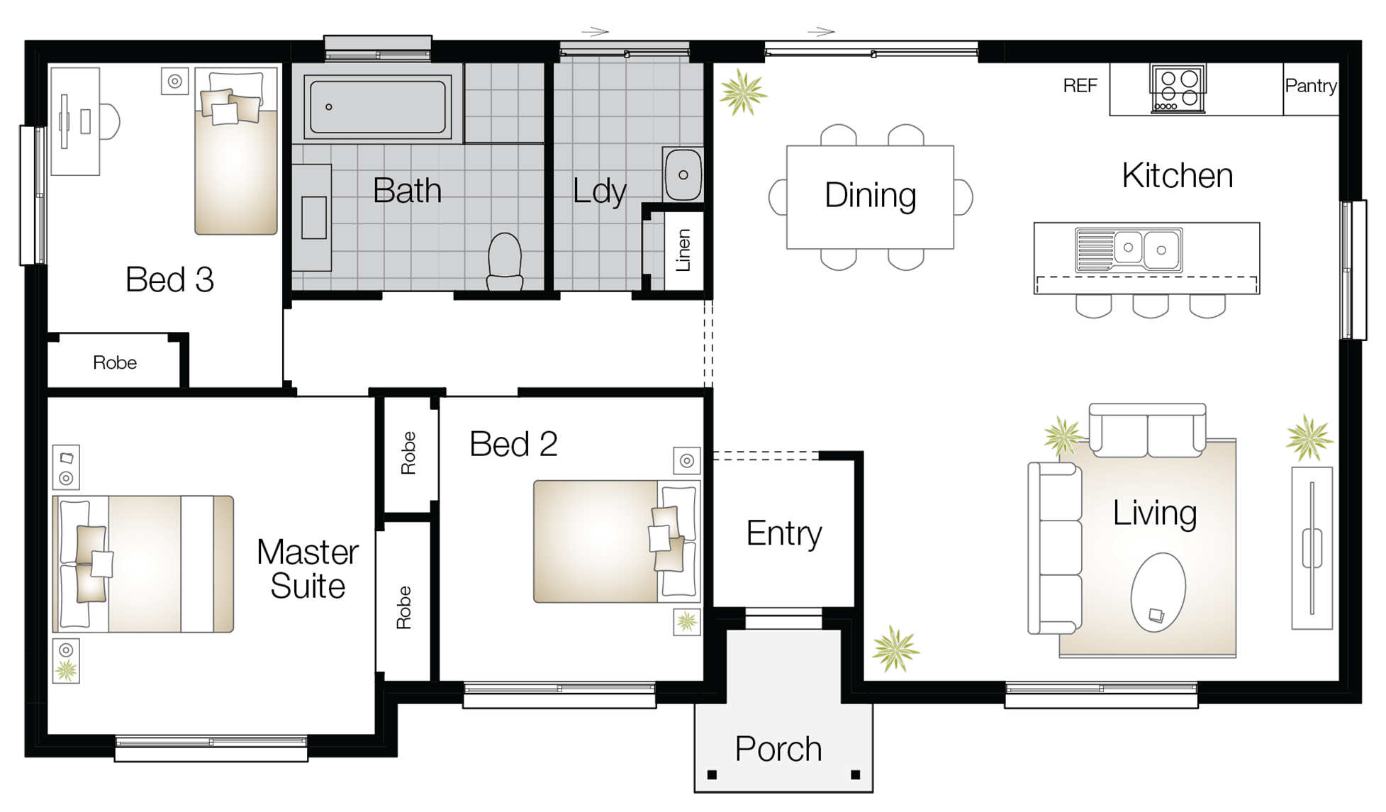 Throsby – Single Storey Floor Plan - Wilson Homes