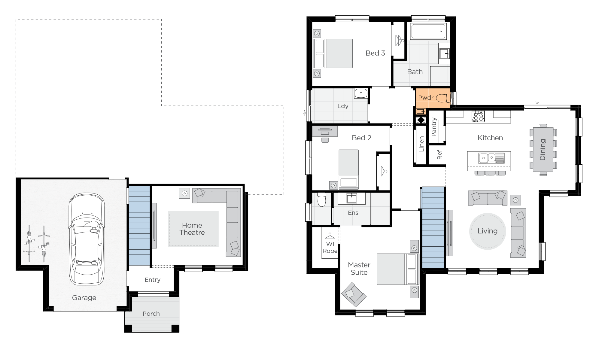 Anchorage One Upgrade floorplan lhs