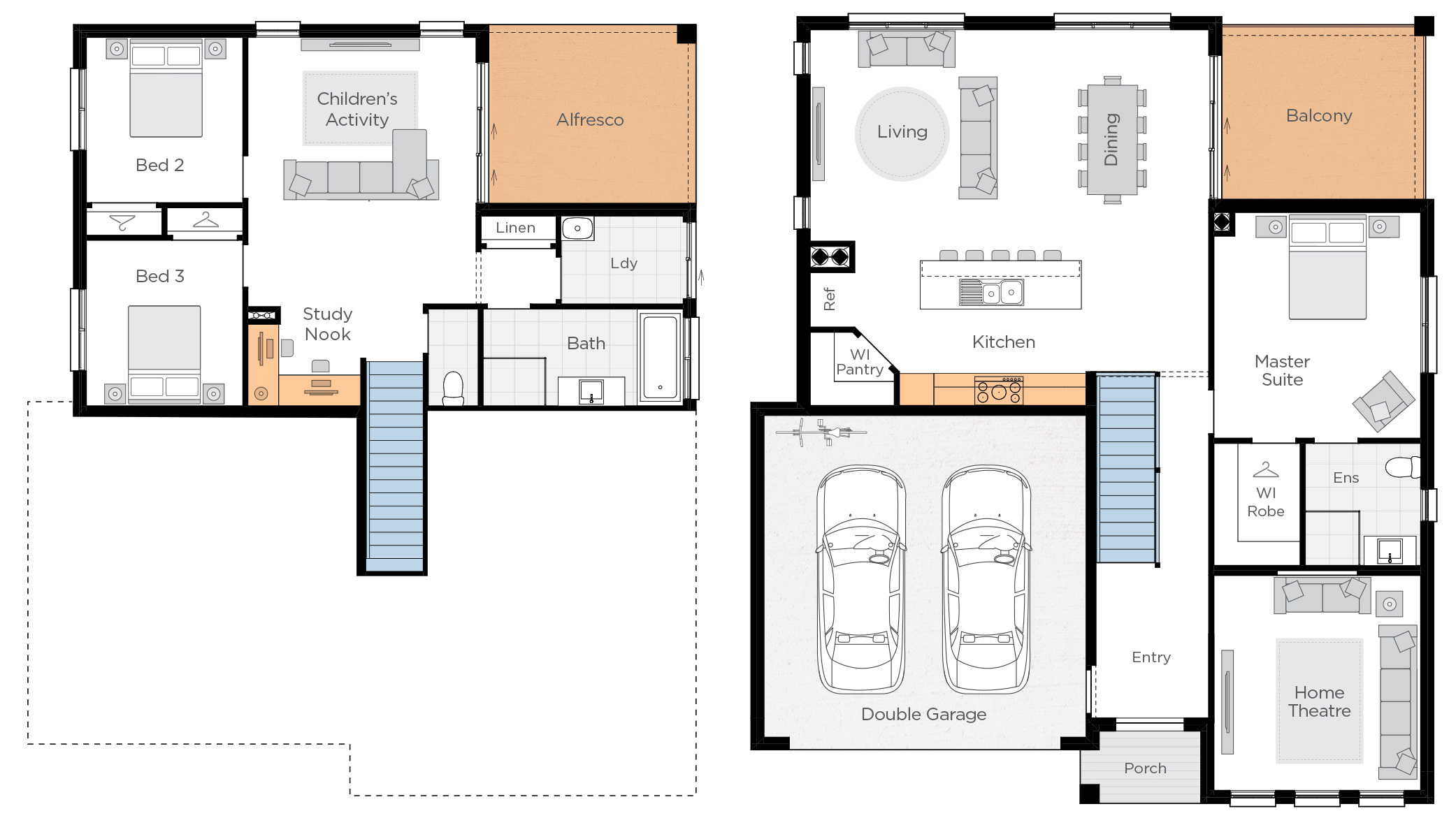 Freshwater One Upgrade floorplan lhs